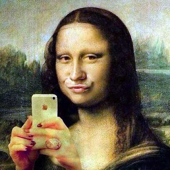 iPhone for Mona Lisa